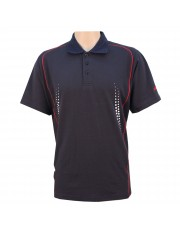 Unisport UCT003 Cotton Lacoste (Navy/Red)