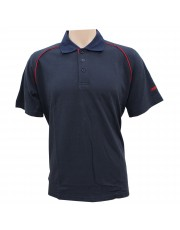 Unisport UCT001 Cotton Lacoste (Navy/Red)