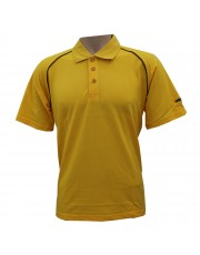 Unisport UCT001 Cotton Lacoste (Yellow/Black)