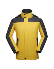 Hiking Jacket Yellow